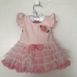 Edgehill Collection Rose Pink dress 👗 Size: 0-3M